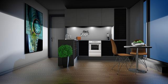 grafika kuchyně