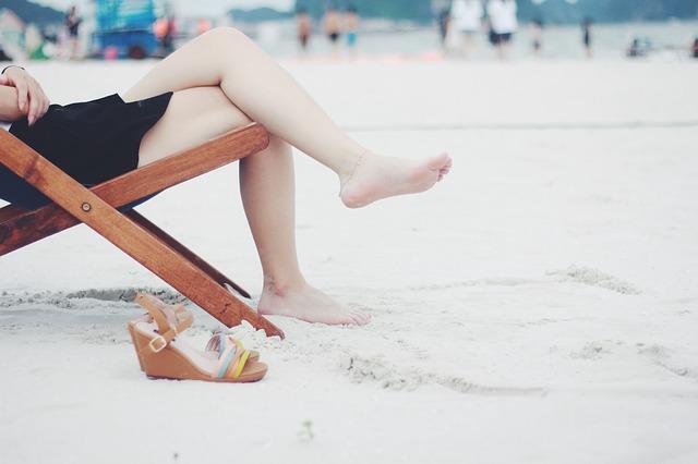 plážové lehátko
