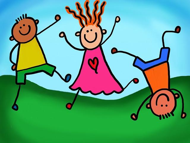 malované děti