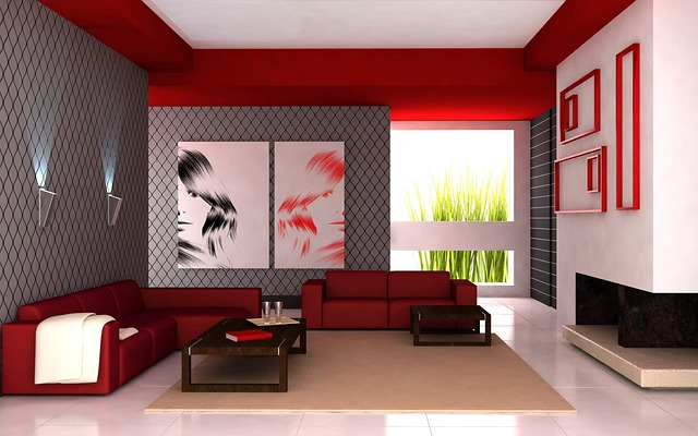 červená místnost