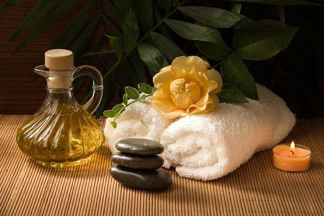 olej a ručník