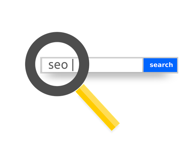 písmena SEO ve vyhledávači